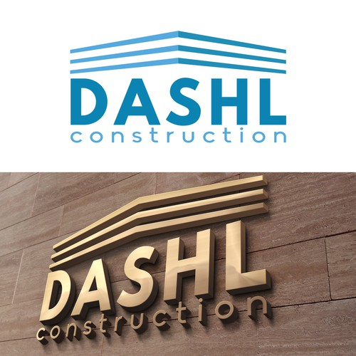 Logo concept for construction firm