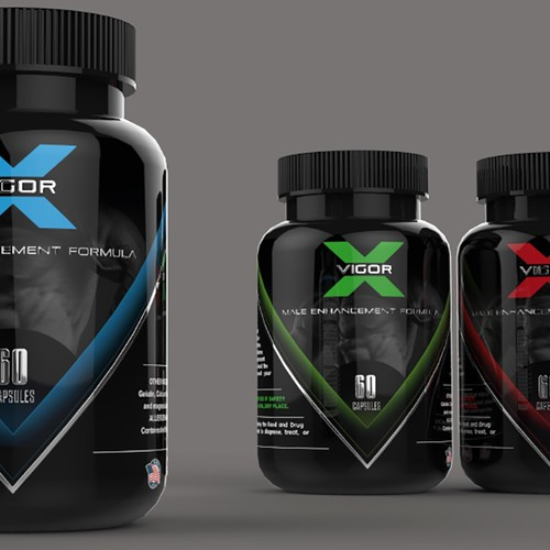 Winning Design for a workout supplement