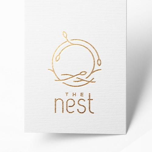 The Nest - Minimalist Modern Logo Design