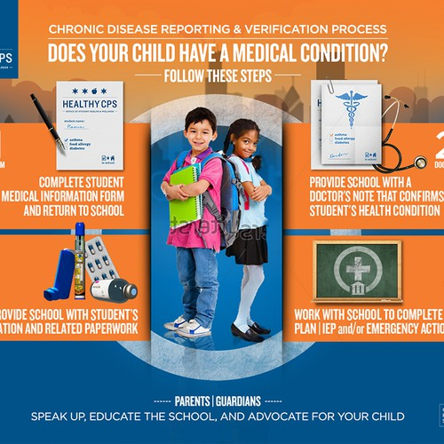 Design a Health Education Infographic for Chicago Public Schools!