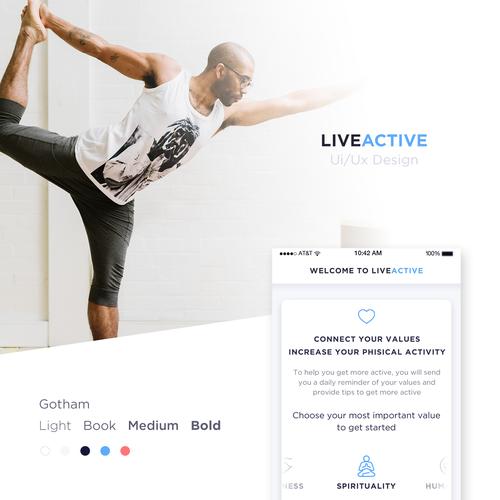Minimal design for LiveActive