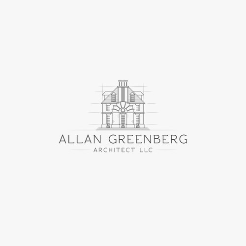 Allan Greenberg Architect LLC | logo concept