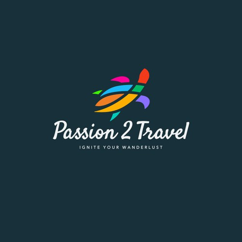 «Passion 2 Travel» logo