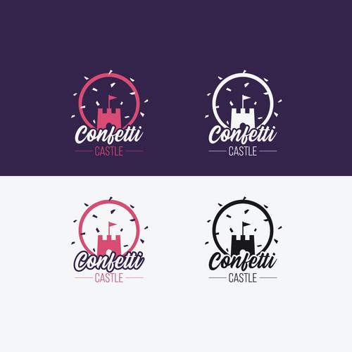 Confetti Casle Logo Design Contest