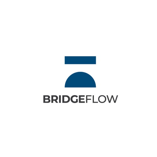 Simple logo for Bridge Flow consultancy firm