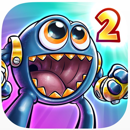 Monster Math 2 iOS App Icon