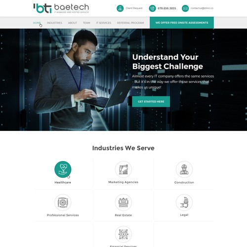 Beatech Website Design