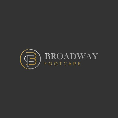 Sophisticated and luxury logo concept Broasway Footcare