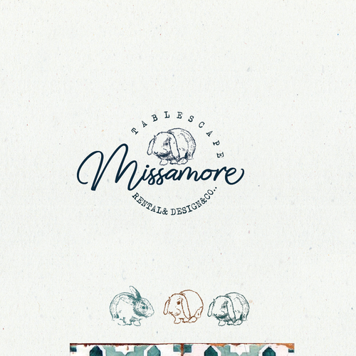 Logo for tablescape design