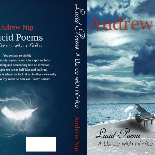 Create the next book or magazine cover for Lucid Poems
