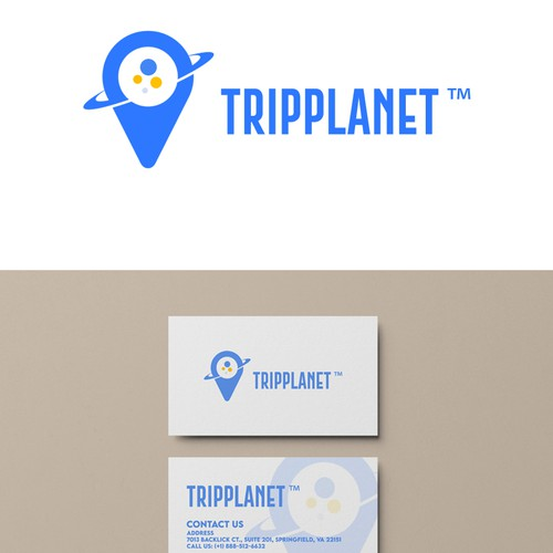 Tripplanet Logo Branding