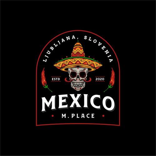 Design a logo for a Mexican restaurant in Ljubljana