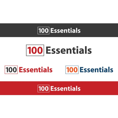New Logo Design wanted for 100 Essentials