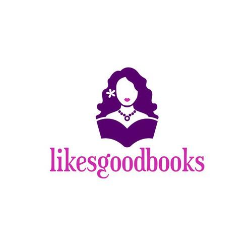 Likesgoodbooks Logo Design