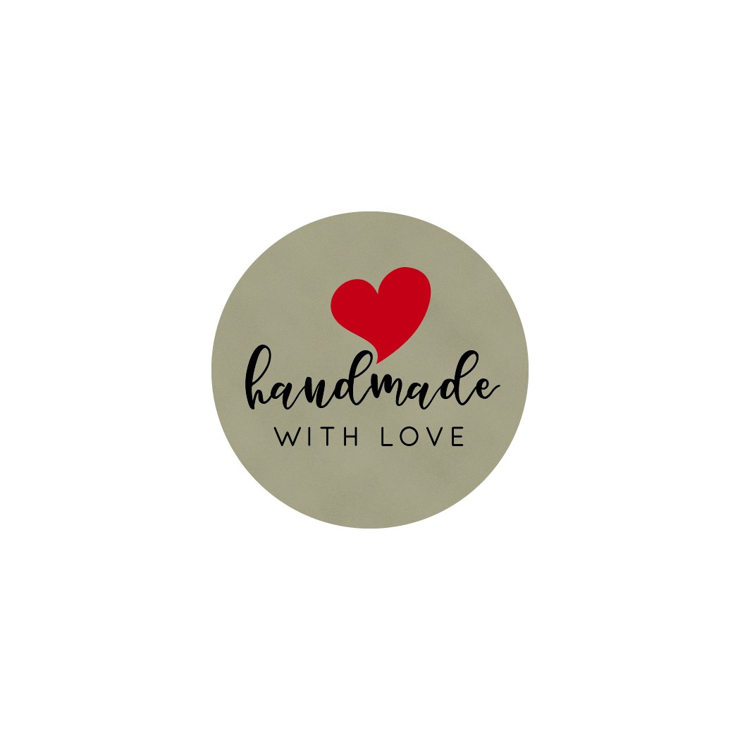 Homemade with Love Sticker