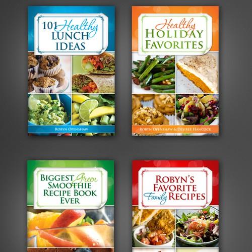 Recipe book covers