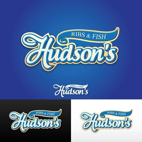 New logo wanted for Hudson's Ribs & Fish