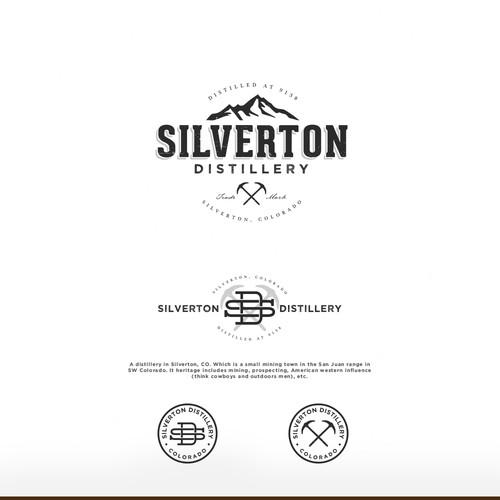 Logo proposal for Silverton Distillery