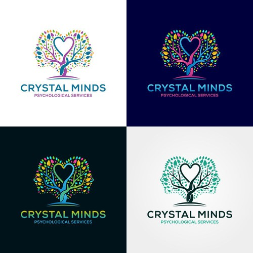 looking for a sophosticated, creative, empathetic and professional design for a psychology company