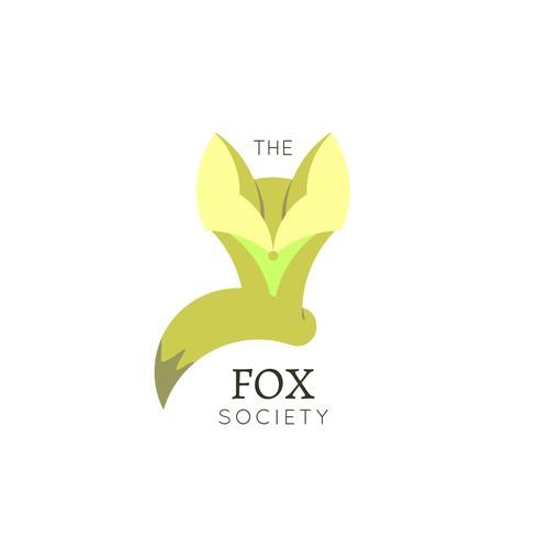 Logo Concept for The Fox Society