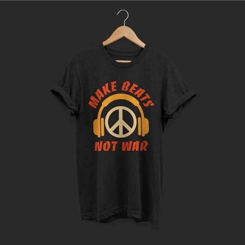 Make Beats Not War Tee