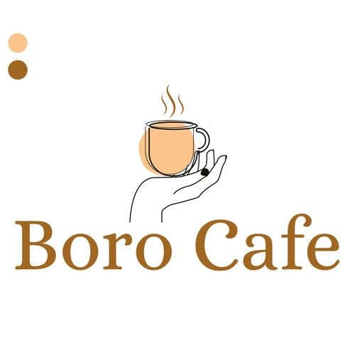 Logo concept for a cafe