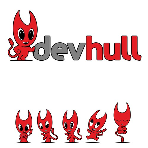 Create the next logo for devhull