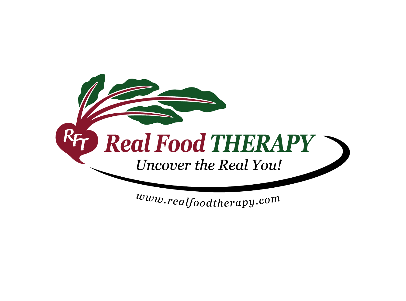 logo for Real Food Therapy