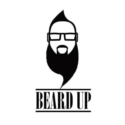Logo for beard store.