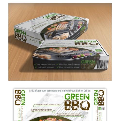 """Verpackung für """"GreenBBQ"""""""