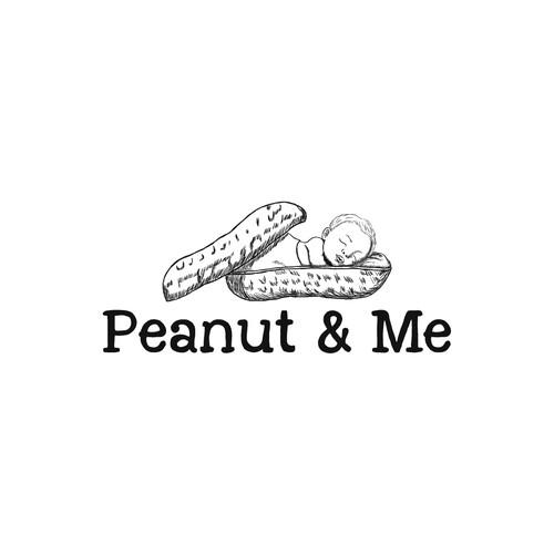 Baby peanut logo
