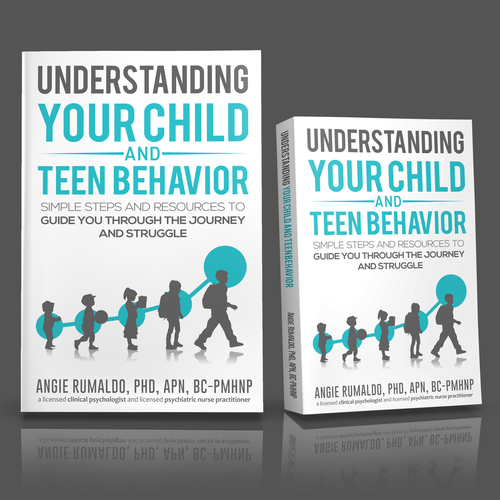 Create an eye catching cover for a parents how to guide book