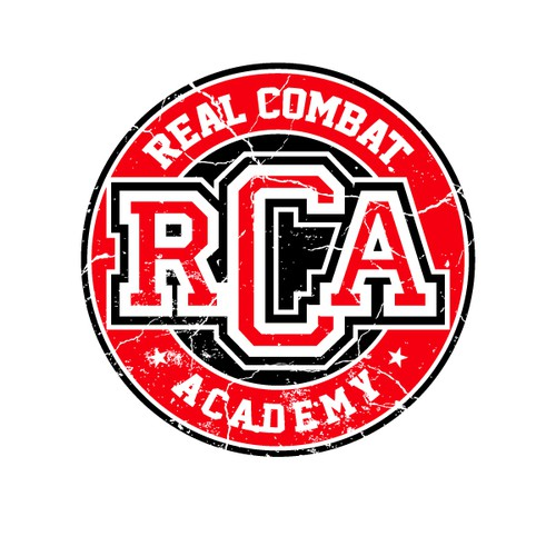 Real Combat Academy Logo Design