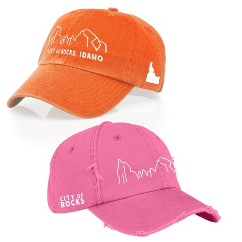 Embroidery Hat Design for Outdoor Tourism