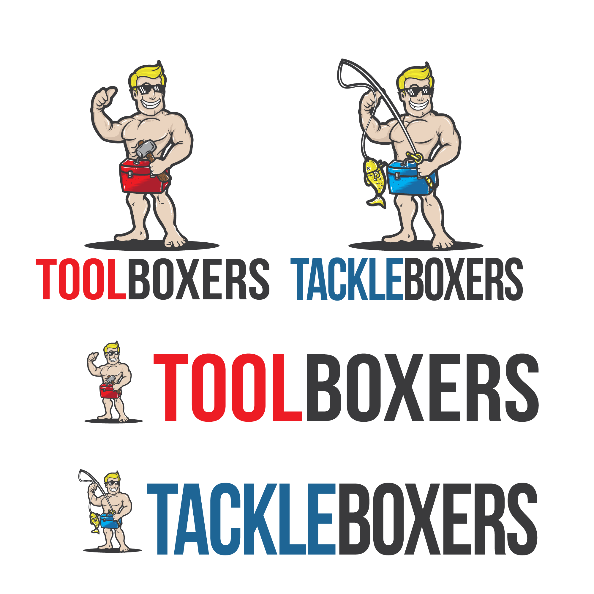 Toolboxers and Tackleboxers