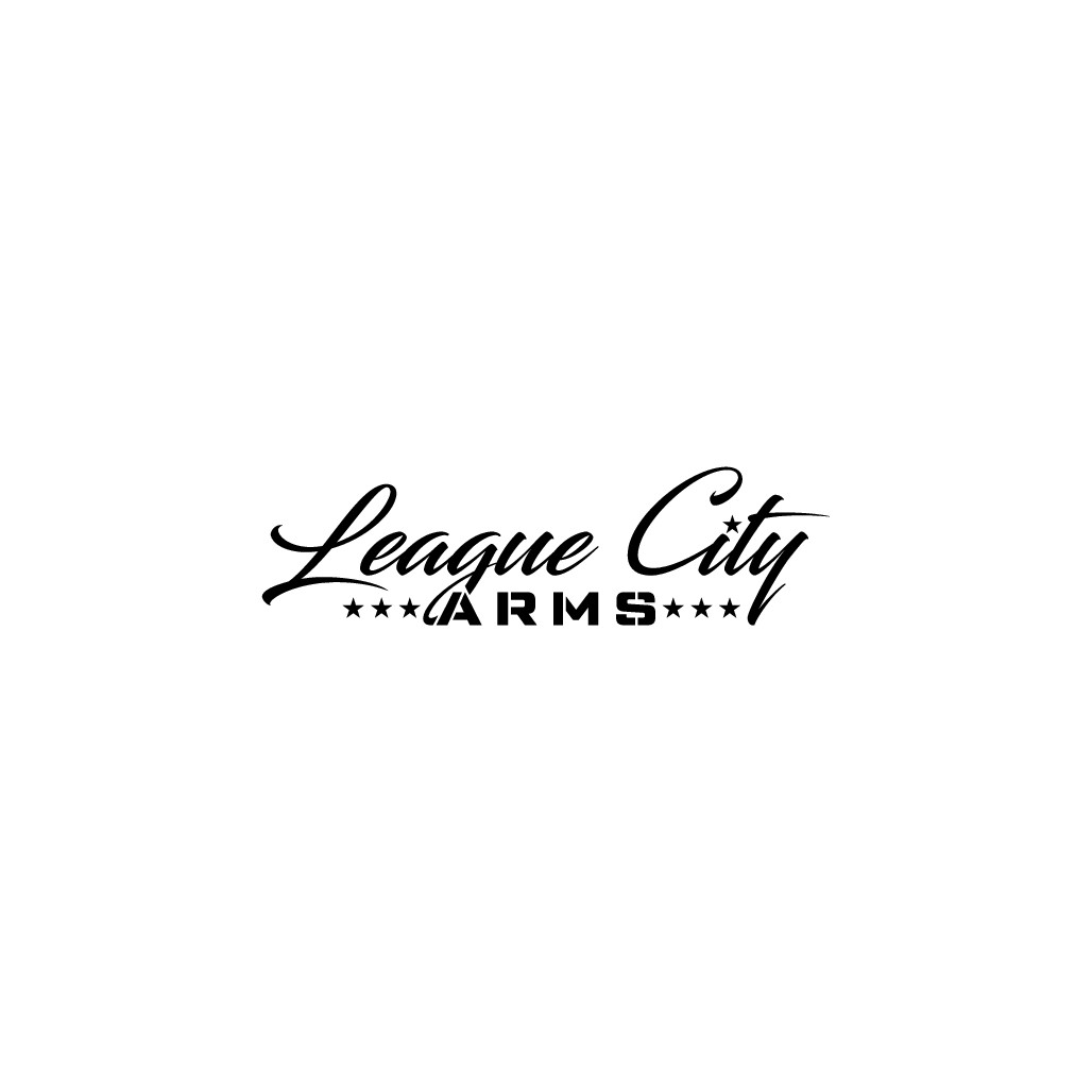 Need a powerful logo to promote new gun shop in town,League City Arms