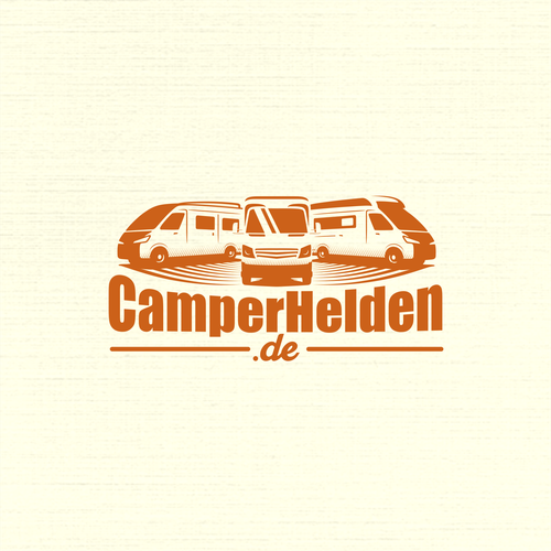 Car illustrations concept for CamperHelden.de