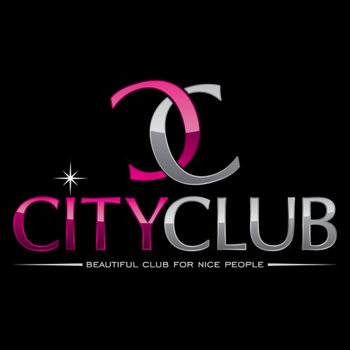 Create a stylish and serious logo for disco club