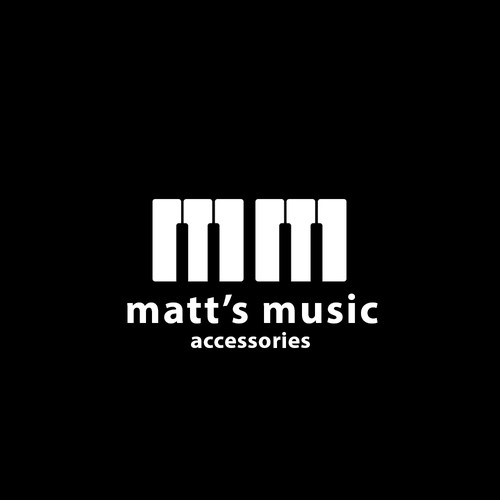 simple idea  for a music accesories shop
