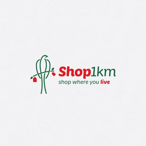 Logo for local shopping.