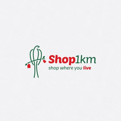 Logo for local shopping.