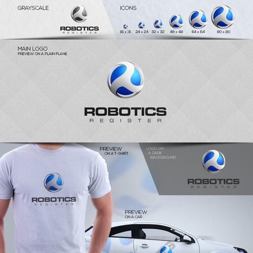 New logo wanted for Robotics Register
