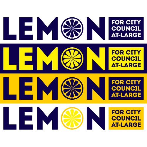 Exciting Design for Lemon for City Council