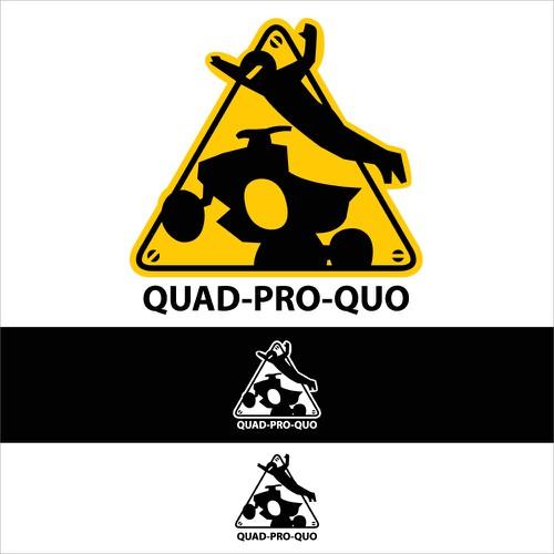 Logo design for safety ATV riding