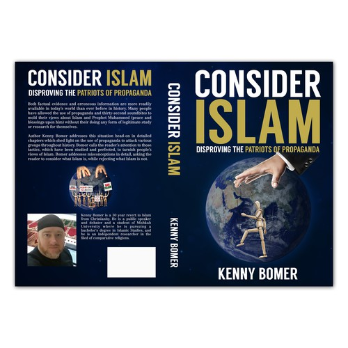 Book Cover design for brother Kenny Bomer