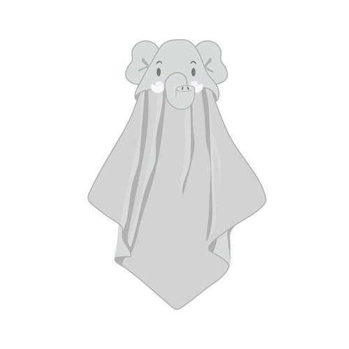 Baby Towel - Character art