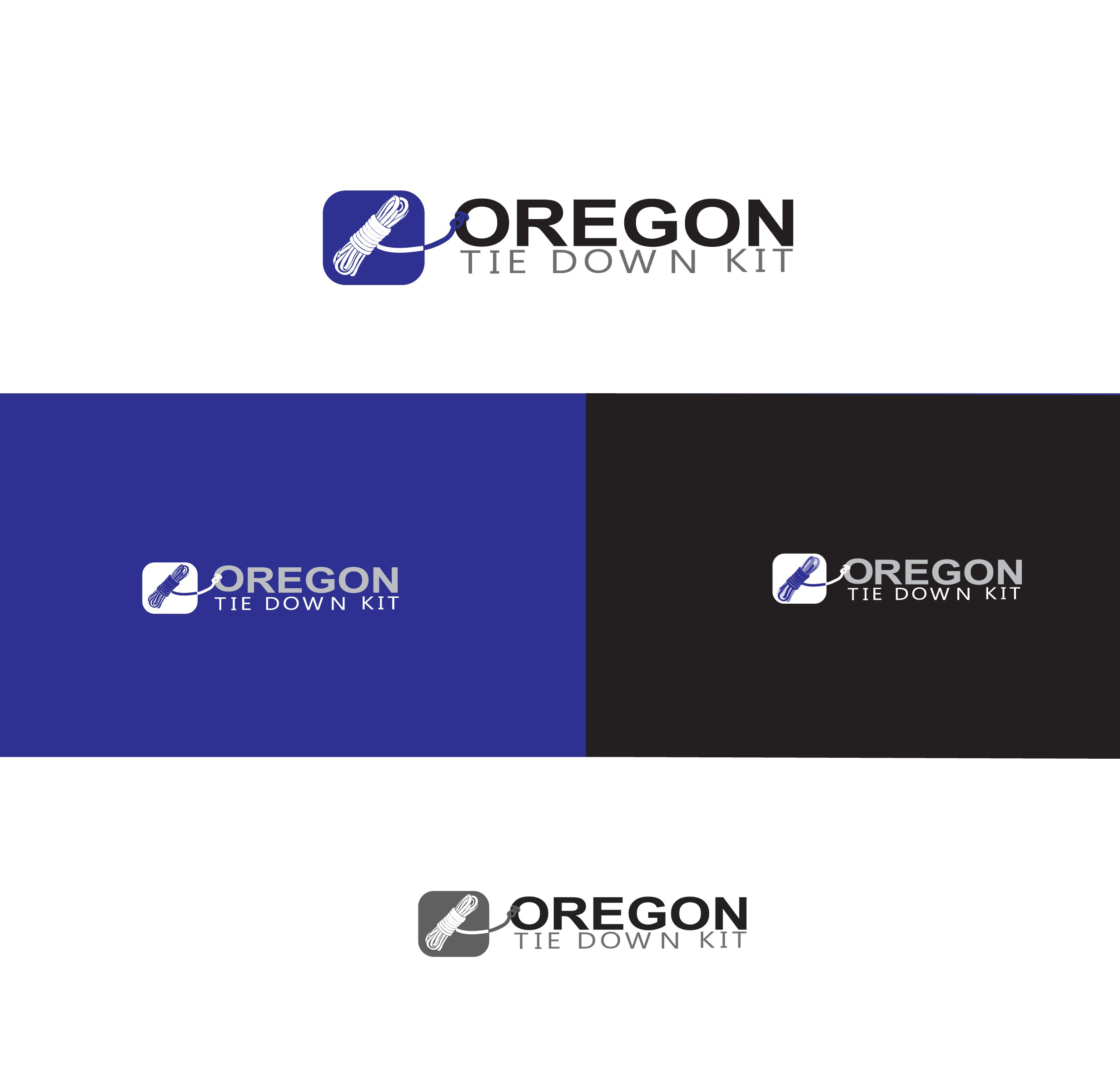 Create a logo for a startup outdoor accessory company.