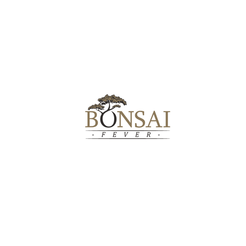 Logo concept for Bonsai fever