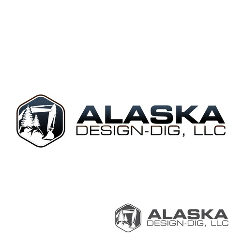 "Logo for ""ALASKA DESIGN-DIG, LLC"""