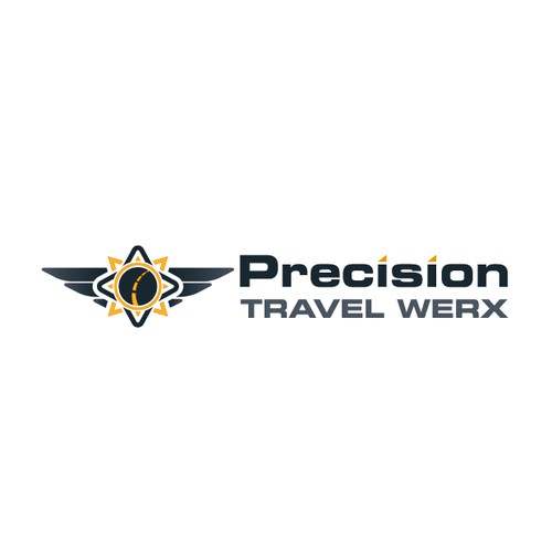 Create the next logo for Precision Travel Werx